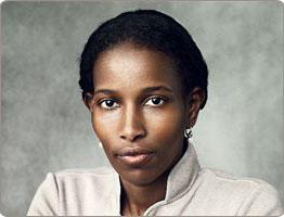 Aayan Hirsi Ali, motivational woman keynote speaker