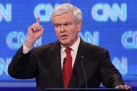 Newt Gingrich, a WWSG Speaker, CNN Crossfire