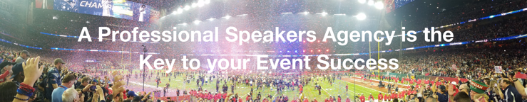 A Professional Speakers Agency is the Key to your Event Success