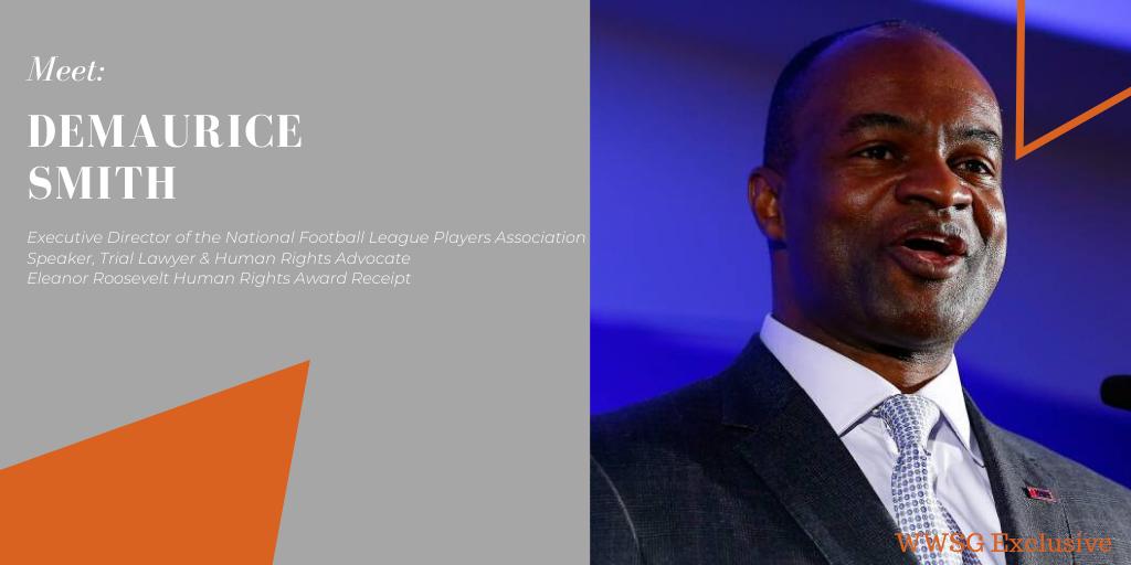 DeMaurice Smith NFLPA | Worldwide Speakers Group