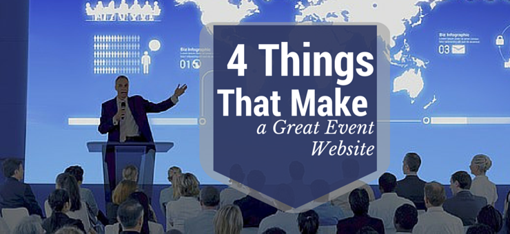 4 things that make a great event website