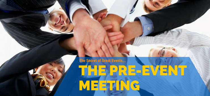 Pre Event Meeting