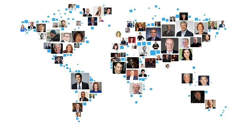 WWSG Speakers Map