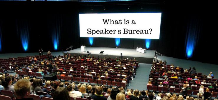 What is a Speaker's Bureau?