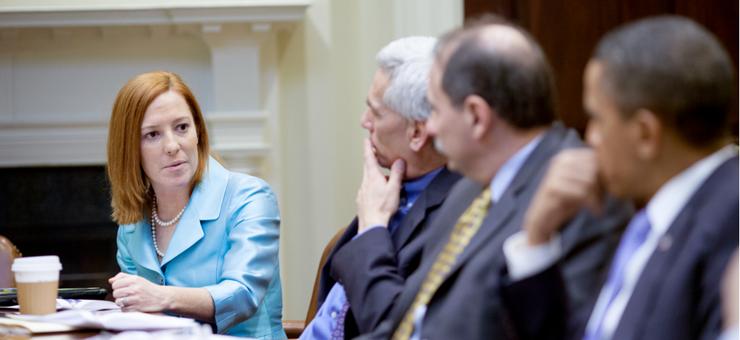 Former White House Communications Director - Jen Psaki